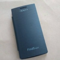 Flip Cover Oppo Find 5 Mini R827 Flipcover Find 5 Mini Hitam