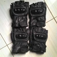 harga sarung tangan kulit asli setengah jari domba asli garut Tokopedia.com