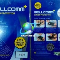 Anti Gores Nokia E71 - Wellcomm