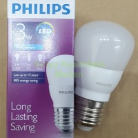 Lampu Led Philips 3w - Warna Cahaya Putih - Full Garansi 2th