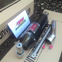 KNALPOT YOSHIMURA USA FOR CBR LOKAL 150 + DB KILLER