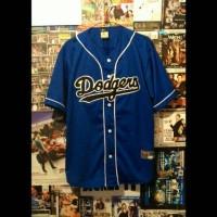 harga Jersey Baseball Dodger Biru Tokopedia.com