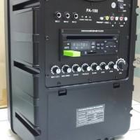 harga Portable Wireless Meeting Dvd Cevic Pro Pa 188 ( 8 Inch ) Tokopedia.com