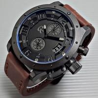 jam tangan pria GC (Guess Collection) Tali Kulit Model Expedition 6381
