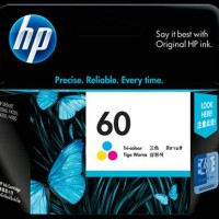 Tinta HP 60 Tri Color [ CC643WA ]
