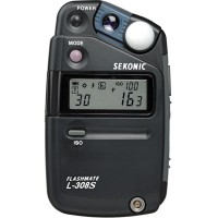 Sekonic L-308S Flashmate - Digital Incident, Reflected & Flash Light M