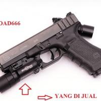 harga tactical flashlight Surefire X300 Ultra LED Weapon Light (HITAM) Tokopedia.com