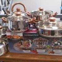Shinil 12 pcs cookware set