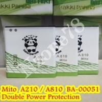 BATERAI MITO A210 A810 BA-00051 RAKKIPANDA DOUBLE POWER PROTECTION