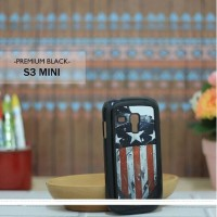 Casing HP Custom Premium Black Samsung S3 Mini