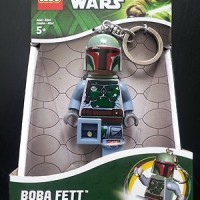 Lego LED LITE Keychain Boba Fett