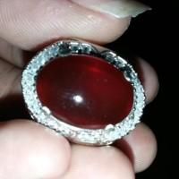 Batu Akik Khas Pacitan Jenis Red Chalcedony