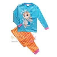 Piyama Pajama Baju Tidur Anak Frozen - SET131