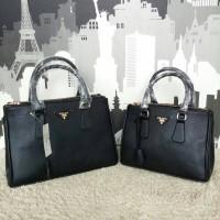 Prada Saffiano Mini '25 Black(Size 25x17x12)