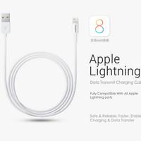 Pisen Apple Lightning Data Charger Cable 1500mm - Garansi 12 Bulan!