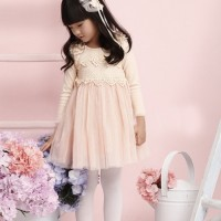 Baju Anak - Peach Dress (GI-650)