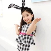 Baju Anak - Black White Set (GI-649)
