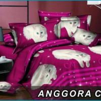 harga sprei duo bed sorong kucing anggora 120x200 Tokopedia.com