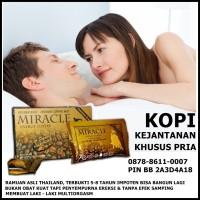 Kopi Miracle murah, mirakel, golden bull energy coffee, ginseng, vital