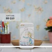 Casing HP Custom Softcase BB Q10  Baymax & Elsa