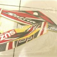 harga Striping Lis/stiker Body Motor Satria Fu 2012 Merah Tokopedia.com