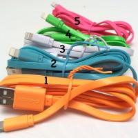 Kabel Data Hippo Caby iPhone 5/6 & iPad 4/5/mini 5 warna | ORIGINAL