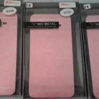 hardcase motomo metal samsung galaxy grand prime warna pink