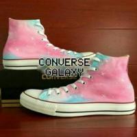 sepatu lukis galaxy converse px style