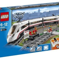Lego CITY 60051 High-speed Passenger Train (BAD BOX)