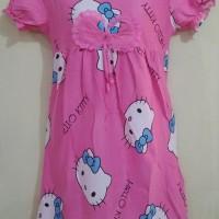 harga DSHK44 - Dress Hello Kitty Pink Pita Renda Tokopedia.com