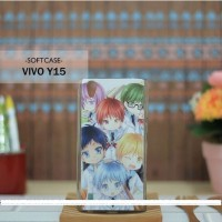 Casing HP Custom Softcase Vivo Y15 Anime Boys