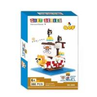 Lego Nano Block QCF One Piece Ship 9856
