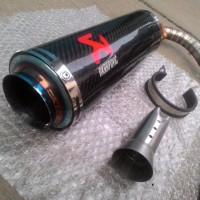 Harga knalpot akrapovic carbon asli r15 db | Pembandingharga.com