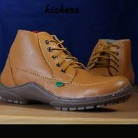 Sepatu Boot Kickers Semi Boot