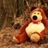 Boneka Beruang Teddy Bear Masha Besar