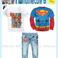 Setelan MC6 3pc Boy ~ Superman