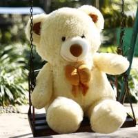 Boneka Beruang Teddy Bear Besar Cream