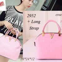 tas Import 2952 valentino pink