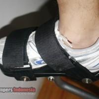 Velcro Strap, Iketan Kaki For Jumping Stilts, Skyrunner