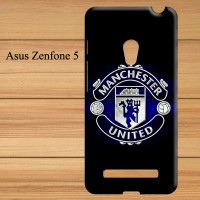 06 Manchester United Logo Blue Asus Zenfone 5 Cust