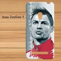 56 Cristiano Ronaldo Asus Zenfone 5 Custom Hard Ca
