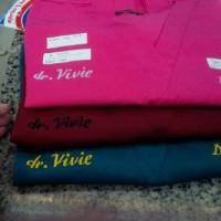 Harga bordir baju ok snelly jas dokter hitungan per | antitipu.com