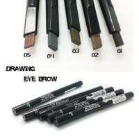 Etude house eye brow drawing new ada kuas hasil 3D eyebrow alis pensil