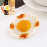 Jepitan & Sirkam poached eggs shape decorated simple design
