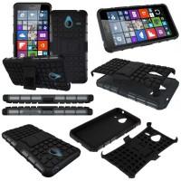 harga Microsoft Lumia 640xl - Heavy Duty Rugged Armor Stand Case Tokopedia.com