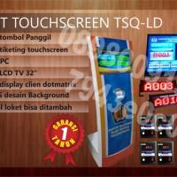 Mesin Antrian Touchscreen Kantor Pajak