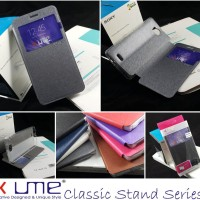 Flipcase Ume Classic View Leather Flip Cover Case Smartfren Andromax Q