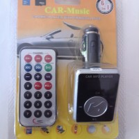 CAR MUSIC - CAR MP3 PLAYER WITH FM MODULATOR