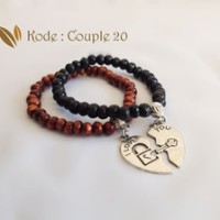 Jual JUAL Gelang Couple Heart Puzzle [Couple 20] Murah