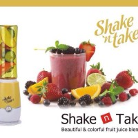 SHAKE AND TAKE 2 TABUNG GELAS WARNA GEN 3 BLENDER JUS BLEND JUICER